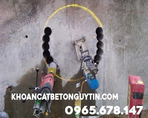 Dịch vụ Khoan rút lõi bê tông tại Quận Thanh Xuân