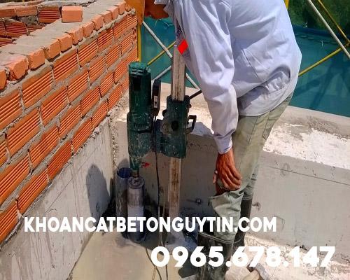 Khoan rút lõi bê tông tại Huyện Thanh Oai