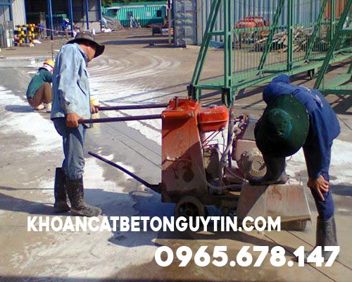 khoan cắt bê tông tại Quận Thanh Xuân